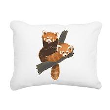 Unique Red panda Rectangular Canvas Pillow