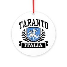 Taranto Italia Ornament (Round)
