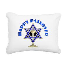 Jewish Star Passover Rectangular Canvas Pillow