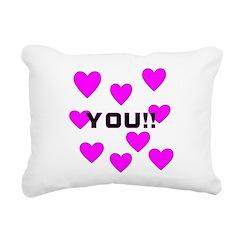 you.png Rectangular Canvas Pillow