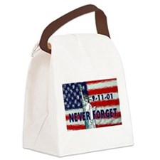 911 Never Forget Canvas Lunch Bag
