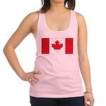 Canadian Flag Racerback Tank Top