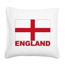 england_b.gif Square Canvas Pillow