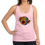 sunflower planet2.png Racerback Tank Top