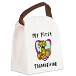 My First Thanksgiving Canvas Lunch Bag