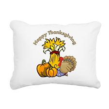 Happy Thanksgiving Pumpki... Rectangular Canvas Pi
