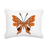 'Butterfly Tattoos Rectangular Canvas Pillow