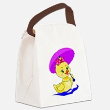 Baby Duck Canvas Lunch Bag