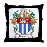 Bagwell Coat of Arms Throw Pillow