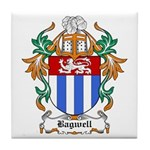 Bagwell Coat of Arms Tile Coaster