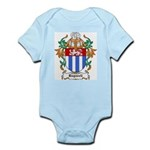 Bagwell Coat of Arms Infant Creeper