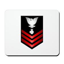 Navy Utilitiesman First Class Mousepad