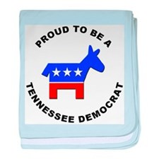 Tennessee Democrat Pride baby blanket