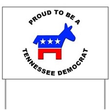 Tennessee Democrat Pride Yard Sign
