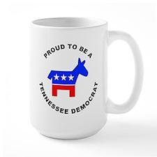 Tennessee Democrat Pride Mug