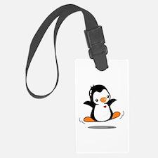 Happy Penguin (2) Luggage Tag