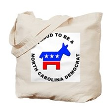 North Carolina Democrat Pride Tote Bag