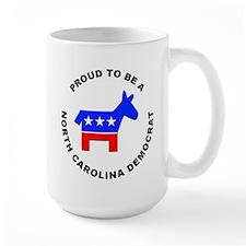 North Carolina Democrat Pride Mug