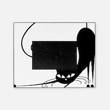 Black Cat Picture Frame