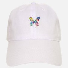 Colorful Butterfly Baseball Baseball Cap