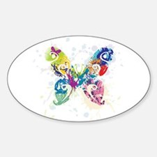 Colorful Butterfly Decal