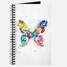 Colorful Butterfly Journal