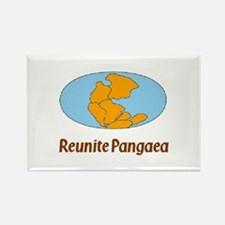 Pangaea Rectangle Magnet