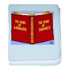 Book of Mormon/Romney baby blanket