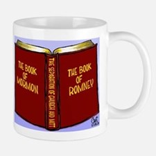 Book of Mormon/Romney Mug