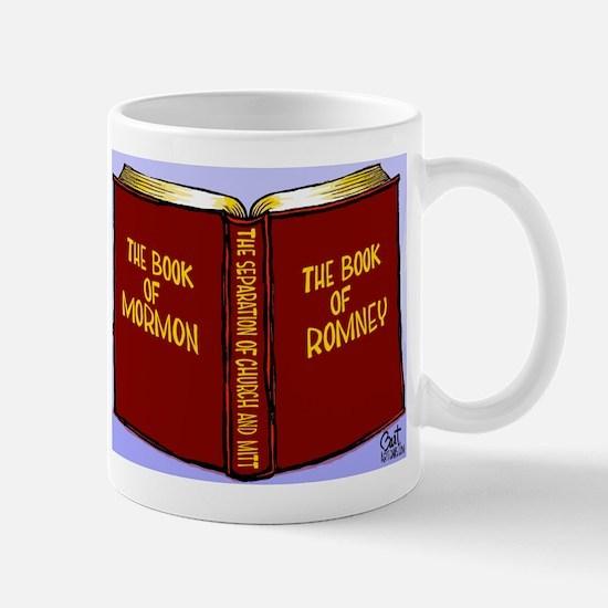 Book of Mormon/Romney Mug