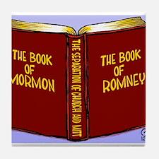 Book of Mormon/Romney Tile Coaster