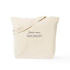 Jesus was a Socialist Tote Bag