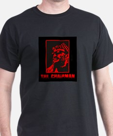 The Chairman (Che Style w Red Box) Black T-Shirt