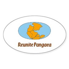 Pangaea Oval Decal