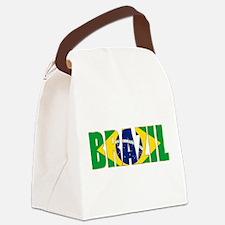 Brazil Logo Canvas Lunch Bag