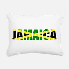 Jamaica Logo Rectangular Canvas Pillow