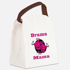Drama Mama Canvas Lunch Bag
