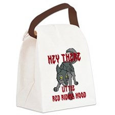 Hey there-Wolf1 Canvas Lunch Bag