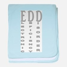 Electronic Deficiency Disorder baby blanket