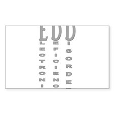 Electronic Deficiency Disorder Decal