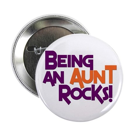 Being an Aunt Rocks! Button