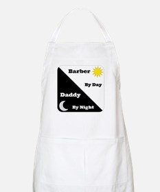 Barber by day Daddy by night Apron