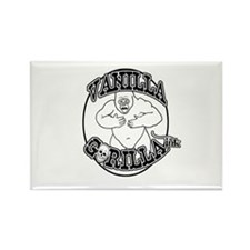 Vanilla Gorilla Ink Big Logo Rectangle Magnet
