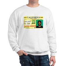California Drivers License Sweatshirt