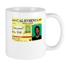 California Drivers License Mug