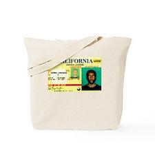 California Drivers License Tote Bag