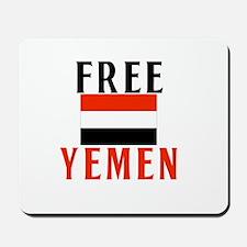 Free Yemen Mousepad