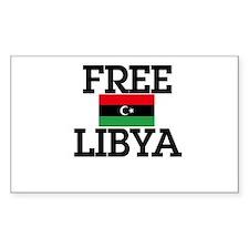 Free Libya Decal