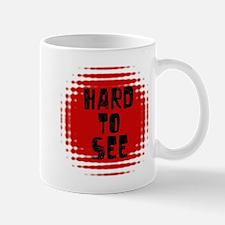 Hard to See Optical Illusion Mug