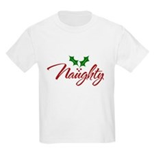 Naughty for Xmas T-Shirt